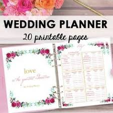 wedding planning book organizer wedding planner printable wedding planner wedding binder diy