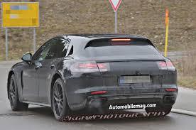 Porsche Panamera Back - porsche panamera shooting brake spied testing could debut by 2019