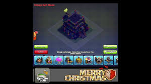 clash of clans christmas lights for your town hall 9 youtube