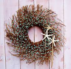 beach wreath home decor wreath front door wreath year round wreath