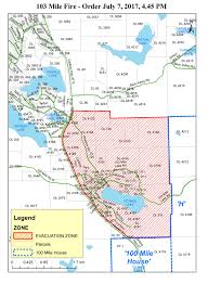 Bc Wildfire Live Map by Evacuation Ordered For Residents In 103 Mile 105 Mile 108 Mile