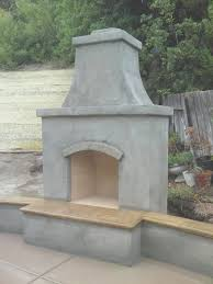 fireplace prefabricated outdoor fireplace home design very nice