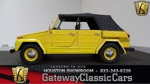 1974 volkswagen thing 1974 volkswagen thing gateway classic cars 886 houston showroom