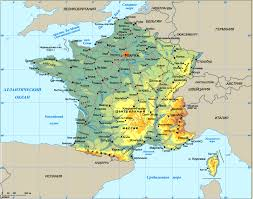 Map Of France Cities by