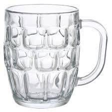bulk dimpled glass mugs 19 5 oz at dollartree