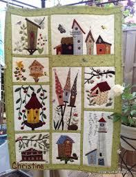 birdhouse quilt pattern birdhouse quilt from scrap quilt stitch quilts pinterest