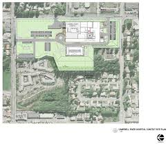 crh site plan north island hospital project