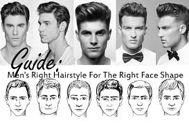 hairstyle for men round face hairstyles for men with thick hair