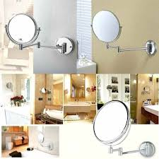 Extendable Magnifying Bathroom Mirror Folding Wall Mirror Mirror