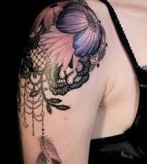 purple nails and purple tattoos tattoomagz