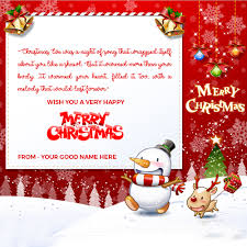 merry christmas archives write name on image