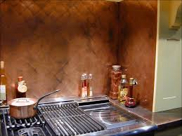 kitchen room awesome copper brick backsplash real copper