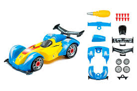 car toy clipart innovative brain toys take apart yellow formula 1 car toy kit