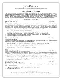 resume exles for fast food manager resume exles fast food cashier resume exles