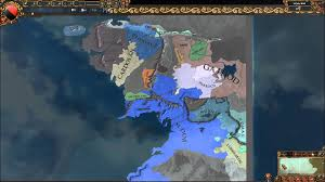 Lord Of The Rings World Map by Eu4 Lord Of The Rings Mod Timelapse Youtube