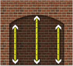 measuring your fireplace for a fireplace screen