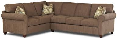 Klaussner Fletcher Sectional Klaussner 012013151 Heights Sofa Atg Stores Klaussner Sectional