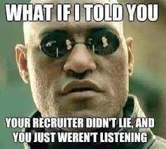 Army Recruiter Meme - what is the difference in daily life first 5 years in the army