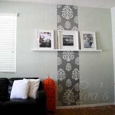 Damask Wall Decor Wall Decals Damask Color The Walls Of Your House