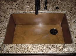 Copper Kitchen Sink by Copper Under Mount Sinks By Rachiele Made In Usa