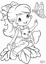 strawberry shortcake coloring pages printable coloring pages