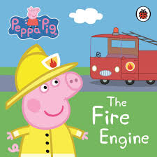 peppa pig the fire engine my first storybook