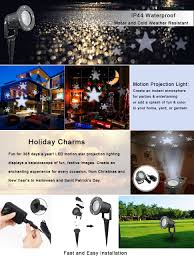 Christmas Outdoor Light Projector by Amazon Com Christmas Projector Lights Outdoor Waterproof Led Star