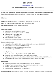 resume exles for college high school resume exles for college menu and resume