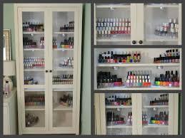 nails 101 my nail polish storage youtube