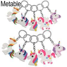 Favor Toys by Aliexpress Buy 10pcs Lot Unicorn Favor Keychain Pack