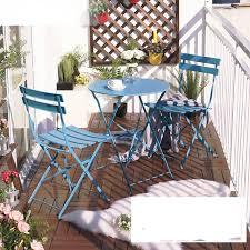 balkon tische balkon tisch und stuhl setzt drei eisen tisch möbel falten im