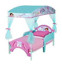 amazon com delta children canopy toddler bed nick jr dora the