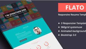 Online Resume Websites by 20 Best Resume Html Website Templates For Vcard Cv U0026 Portfolio