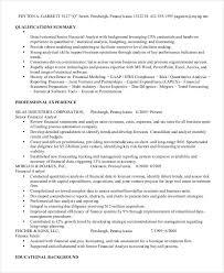 finance resume template 10 finance resume templates pdf doc free premium templates