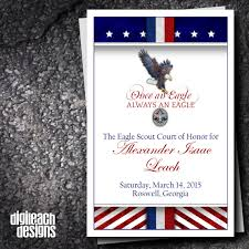 Eagle Scout Invitation Cards Instant Download Eagle Court Of Honor Thank You Note Eagle 71