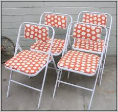 Metal Folding Chair Covers Metal Folding Chair Cover Pattern Chairs Home Decorating Ideas