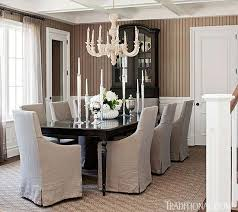 Neutral Dining Rooms 2017 Grasscloth Wallpaper Blue And White Classic American Style Home Of Bill And Guiliana