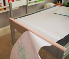 forty two roads hacking ikea diy ikea hack latt table transformation into an art table