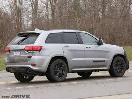 jeep trackhawk grey hellcat powered jeep grand cherokee trackhawk caught nearly