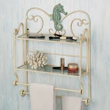 Bathroom Wall Shelves Sea Bath Wall Shelf Organizer