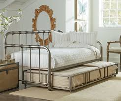 Trundle Bedroom Set Tristen Daybed With Trundle In Pewter Finish 87500 Standard
