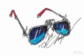 custom sterling silver sunglasses design and development