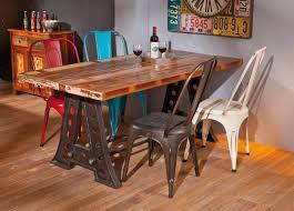 Esszimmertisch Dunkles Holz Ideen Design Tisch Massiv Holz Rheumri Und Geräumiges Esstisch