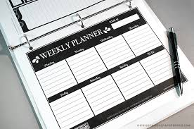 printable weekly and monthly planner 2015 free printable weekly planner pages blog botanical paperworks