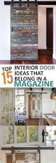 Domestication Home Decor Top 15 Interior Door Projects That Belong In A Magazine Doors