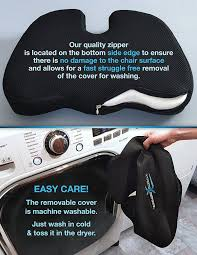 Back Pain When Getting Out Of Chair Amazon Com Coccyx Orthopedic Memory Foam Seat Cushion Helps
