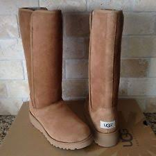 womens wedge boots size 12 ugg s kara water resistant twinface sheepskin boot 12