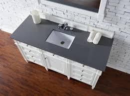 Bathroom Vanities No Sink by Contemporary 60 Inch Single Bathroom Vanity White Finish No Top
