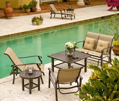 Garden Patio Table And Chairs A Guide To Cast Aluminum Outdoor Furniture Patioproductions Com