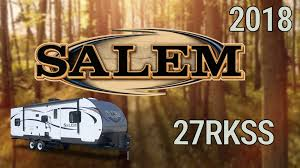 2018 forest river salem 27rkss model